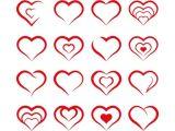 Drawing Heart Icon formas Do Coraa A O Doodles Pinterest Coraa Ao Vetor Coraa A O and