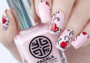 Drawing Heart On Nail 30 Lovely Instagram Nails Art 2018 Nail Art Pinterest