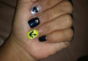 Drawing Heart On Nail Thanks to toni at True Nails Sun City Florida for these Guys She
