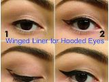 Drawing Hooded Eyes How to Create Winged Eyeliner On Hooded Lids Follow Blog for More
