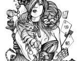 Drawing Ideas Alice In Wonderland Alice In Wonderland Coloring In 2019 Pinterest Wonderland