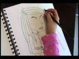 Drawing Ideas for 1 Year Old 8 Year Old Girl Free Hands original Picture Of Young Woman Youtube