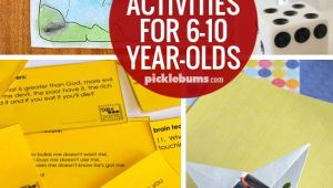 Drawing Ideas for 7 Year Olds Ten Easy Activities for 6 10 Year Olds Fun Activities to Do with