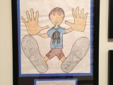 Drawing Ideas for 8th Graders All About Me Cool Trace Shoes Hands then Have Students Draw Body
