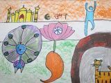 Drawing Ideas for 9th Class Drawing Competition 2015