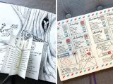 Drawing Ideas for Bullet Journal 15 Absolutely Gorgeous Looking Weekly Layout Bullet Journal Ideas