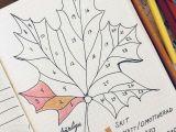 Drawing Ideas for Bullet Journal Bullet Journal November Mood Tracker Swedish Bullet Journal