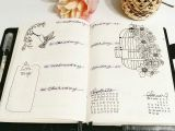 Drawing Ideas for Bullet Journal Bullet Journal Weekly Layout Flower Drawing Bird Drawing Birdcage