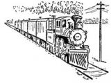 Drawing Ideas for Train Journey 124 Best Train Tattoos Ideas Images