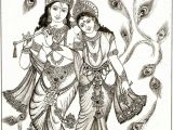 Drawing Ideas God Radha Krishna Picture Drawing Drawing Images Krishna Pinterest