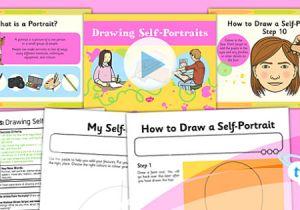 Drawing Ideas Ks1 Art Portraits Drawing Self Portraits Ks1 Lesson Pack 1