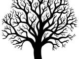 Drawing Ideas Of Trees Silhouette Of Tree without Leaf 2 Sticker Pixersa We Live to
