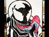 Drawing Ideas Spiderman Whiteboardmusings Venom Draw Sketch Illustration Dryerase