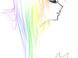 Drawing Ideas Step by Step Anime Sketch Rainbow Emo by Ai Lilith Deviantart Com On Deviantart