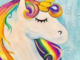 Drawing Ideas Unicorn Easy How to Paint A Rainbow Unicorn Easy Kids Painting Ideas