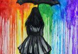 Drawing Ideas Using Crayons Rainbow Rain Art Pinterest Painting Art and Drawings