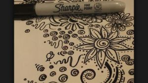 Drawing Ideas with Sharpies Sharpie Doodle Ideas Designs Art Sharpie Sharpie Art Doodles