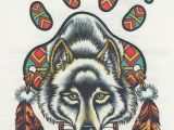 Drawing Indian Wolf Native American Wolf Dream Catcher Native American Indian Dream