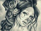 Drawing Joker Girl Girl Clown Chicano Girl Clowns Pinterest Chicano Art Chicano
