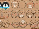 Drawing Kawaii Eyes How to Draw Cute Kawaii Chibi Cartoon Penguins In A Scarf for