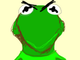 Drawing Kermit the Frog Mad Kermit the Frog My Digital Art Digital Kermit the Frog Kermit