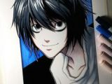 Drawing L Lawliet 433 Best L Lawliet Images Anime Guys Death Note Manga Drawings