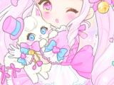 Drawing Little Girl Cartoon Anime Art Baby Baby Doll Baby Girl Background Beautiful Girl
