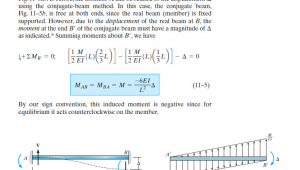 Drawing M Ei Diagram Structural Engineering Conjugate Beam M Ei Engineering Stack