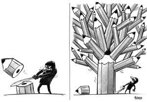 Drawing Newspaper Cartoons Pin Von Matt Honnold Auf Editorial Cartooning Je Suis Charlie