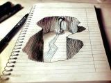 Drawing Of 3d Dog 3d Pencil Drawing Looks Like A Dog at 1st Amazing Art