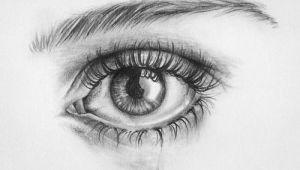 Drawing Of 3d Eye Crying Eye Drawing Art Drawings Art Drawings Pencil Drawings