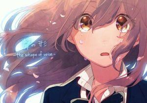 Drawing Of A Anime Girl Crying Anime Girl Anime and Koe No Katachi Image Acg Anime Anime Art