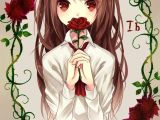 Drawing Of A Anime Girl Crying Anime Girl Ib From Ib Girls Girls Girls Game Girls Anime