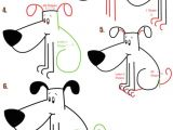 Drawing Of A Big Dog Big Guide to Drawing Cartoon Dogs Puppies with Basic Shapes for