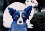 Drawing Of A Blue Dog 127 Best Blue Dog Images Blue Dog Blue Dog Art Blue Dog Painting