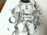 Drawing Of A Cartoon astronaut A89bd52183845 559b056dd82ea Jpg 1240a 1653 Blackwork Pinterest