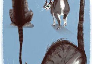 Drawing Of A Cartoon Otter Mi Tablero D D N Dod Cat Art Cats Cat Drawing
