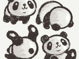 Drawing Of A Cartoon Panda Panda by toru Sanogawa Via Behance Posters Panda Drawing Panda
