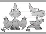 Drawing Of A Cartoon Rhino Pirdino Character Design Copyright A C All Rights Reserved