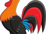 Drawing Of A Cartoon Rooster Vector Image Of An Cock On White Background Cute Animals Cartoon
