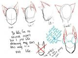 Drawing Of A Cat Person Cat Ears Neko Text How to Draw Manga Anime How to Draw Manga