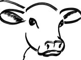 Drawing Of A Cattle 56 Best Cow Drawing Images Cow Painting Animal Drawings Animal