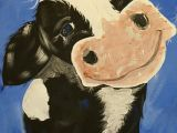 Drawing Of A Cattle Diy Abstract Heart Painting and A Fun Paint Party Art Imagination