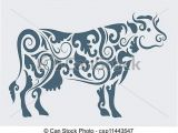 Drawing Of A Cattle Pin by Shea La Gatz On Graphic Design Packaging Cow Tattoo