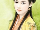 Drawing Of A Chinese Girl Chinese Art Creative Illustrations Pinterest Chinese Art