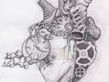 Drawing Of A Cool Heart Biomec Heart by Strawberrysinner Drawings Drawings Art Human