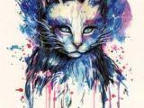 Drawing Of A Dead Cat Die 46 Besten Bilder Von Katzen Temporary Tattoos Cat Temporary