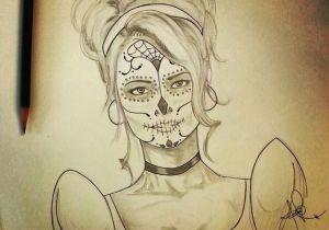 Drawing Of A Dead Girl the Dead Sugar Skull the Dead Deviantart Sugar Skull Girl Skulls