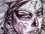 Drawing Of A Dead Girl Znalezione Obrazy Dla Zapytania Sexy Day Of the Dead Girl Tattoo