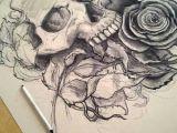 Drawing Of A Dead Rose Living Dead Drawing Tattoos Pinterest Tattoos Skull Tattoos